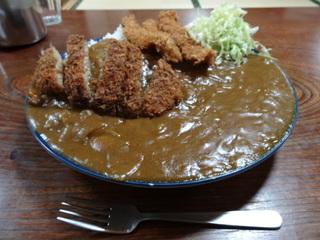 太田食堂ジャンボカツカレー