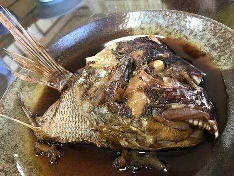 富山栄食堂鯛あら