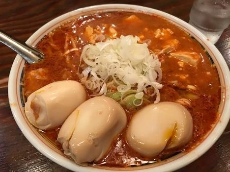 太田家系ラーメン田中家激辛デビル麺
