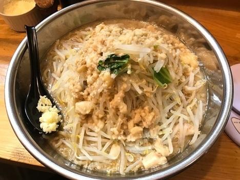 IMG 2232 thumbnail2 - ラーメンだるま小倉店(福岡県北九州市)北九州市唯一の二郎系ラーメン店にて2件目の年越しそばはボウルで麺マシ【大食い】