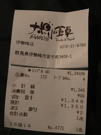 IMG 3296 thumbnail2 - ナポリの食卓伊勢崎店(他各店)【食べ放題】スイーツピザもある久々の巡回ピザバイキングは全てが焼きたて熱々でした【大食い】