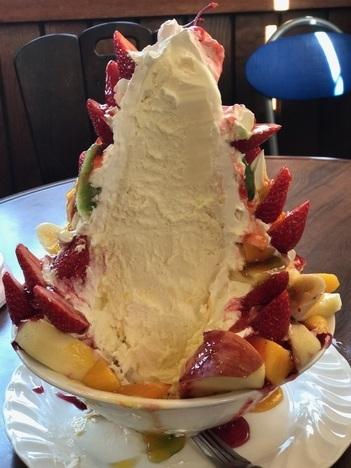 IMG 4661 thumbnail2 - プれンテイ(千葉県銚子市)【デカ盛り】以前撃沈した大繁盛カフェの巨大フルーツパフェに2年越しのリベンジなるか【大食い】