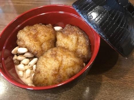 本庄児玉老舗和菓子店梅月堂なんちゃってソースカツ丼スイーツ