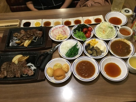 ステーキガスト相模原店カットステーキ食べ放題イベント