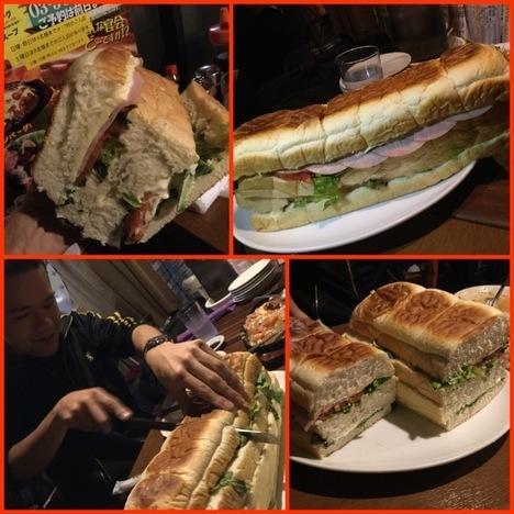 東あずまミスターデンジャーデンジャーパーティー特注サンドイッチ各種シーン