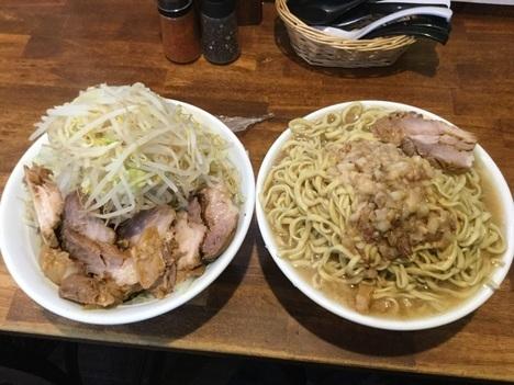 男気らーめんアカギ桐生二郎系特注麺マシマシ