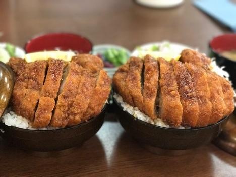 長野まつくぼソースかつ丼大盛り2つ