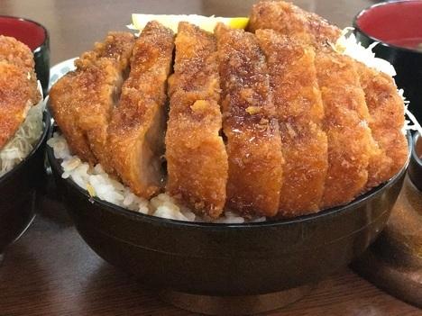 長野まつくぼソースかつ丼大盛り