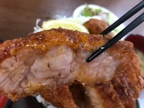 長野まつくぼソースかつ丼大盛り肉リフト
