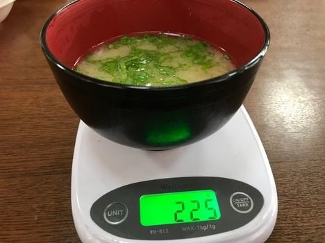 長野まつくぼソースかつ丼大盛り味噌汁