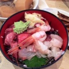 image 171db thumbnail2 - 魚仁(東京都中央区)【大盛り】月島の居酒屋で大漁のお刺身をたらふく【大食い】