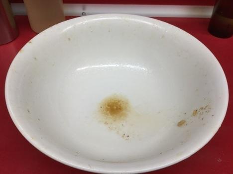 ラーメン二郎湘南藤沢店大ラーメンヤサイマシマシ完食
