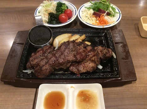 肉の日ステーキガストキャンペーン熟成肩ロース