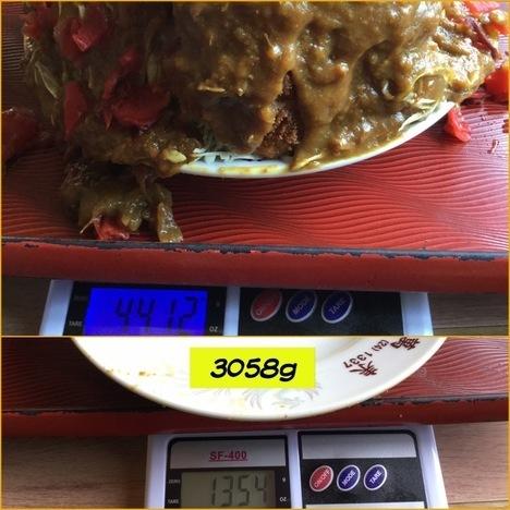image 56e63 thumbnail2 - 萬来(柏崎市)【デカ盛り】新潟県最重量を誇る初回注文不可な大盛りカツカレーの真相は?【大食い】