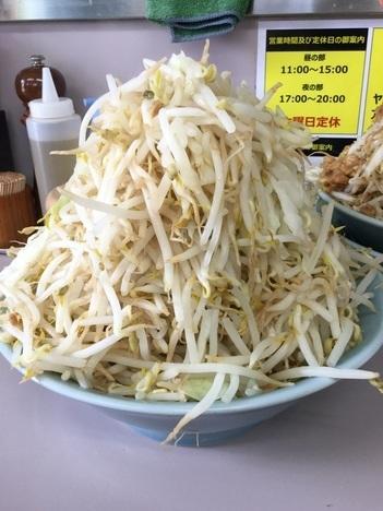 立川マシマシ足利汁なし麺大ヤサイマシマシ別盛分