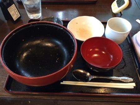 高根沢おおはしチャレンジメニューデカ盛りかつ丼完食