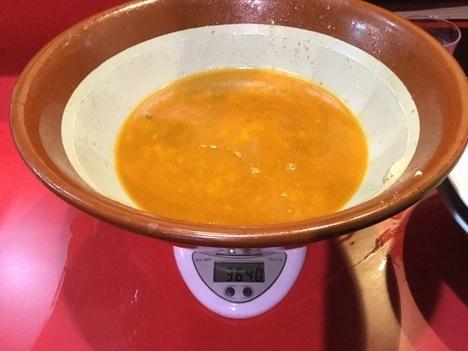火の豚フュージョン麺マシすり鉢固形完食
