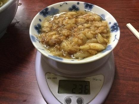 ラーメン富士丸神谷本店ブタメン大盛りアブラ