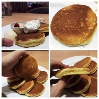 デニーズパンケーキの大きさ.jpg