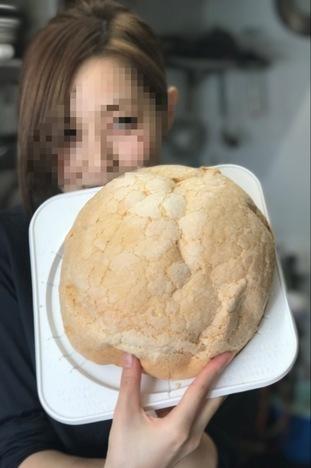 18切符大食い旅多賀SA上りメガ盛りメロンパンモデル