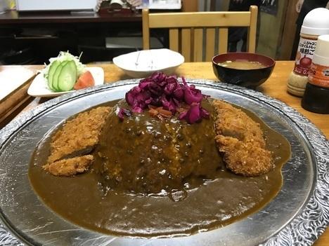 大田原いなかめし和郷特盛カツカレー