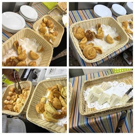名古屋シャポーブランメイチカパン食べ放題格安神モーニング陳列