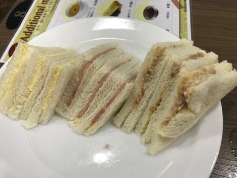 名古屋シャポーブランメイチカパン食べ放題モーニングさんどいっち