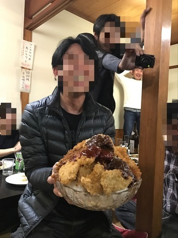 高崎かつ丼葵屋の群鬼会特注デカ盛り丼比較