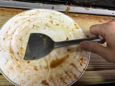ジャンボお好み焼きみゆき岡山23分完食