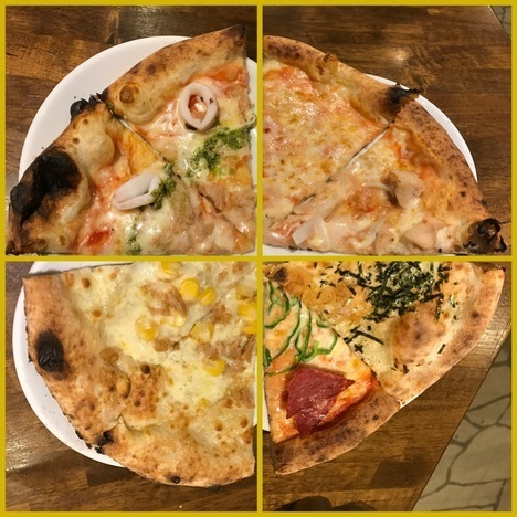 伊勢崎ナポリの食卓食べ放題ピザ2