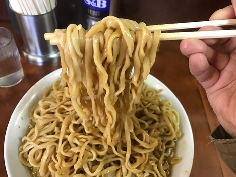 ラーメン二郎大ラーメンヤサイマシマシ縛り全店制覇めじろ台麺リフト