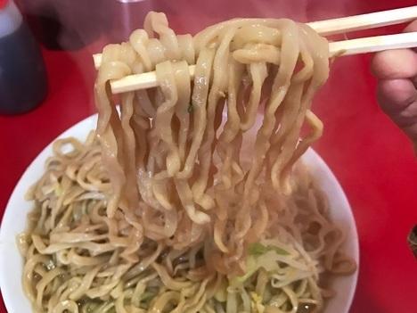 ラーメン二郎大ラーメンヤサイマシマシ縛り計量麺リフト