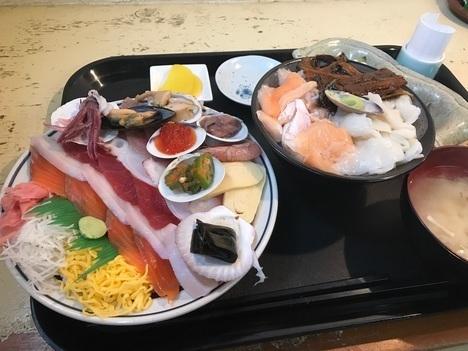 みゆきちゃん定食スペシャル海鮮丼おまかせ丼つき