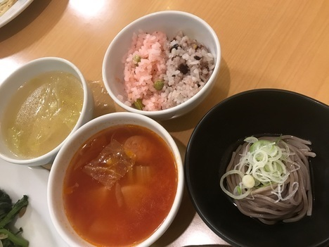 福島カウリキッチン食べ放題ランチビュッフェ主食類