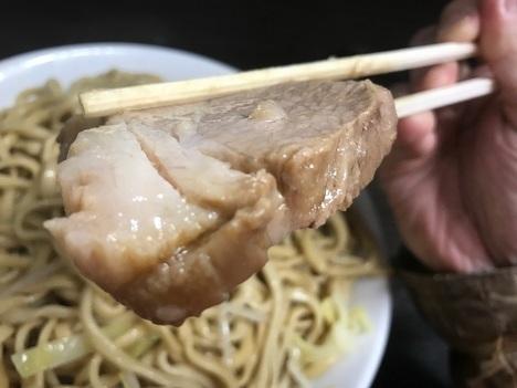 ラーメン二郎大ラーメンヤサイマシマシ軽量全店制覇川越店豚リフト