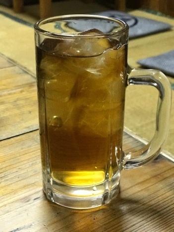 小山大衆食堂たんぽぽウーロン茶