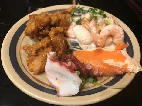 宇都宮ステーキいづつや食べ放題バイキング海鮮おかわり