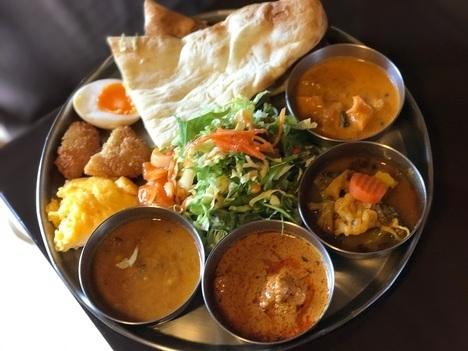 佐野インドカレー食べ放題印度家ランチ大食い