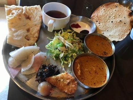 佐野インドカレー食べ放題印度家ランチ大食い3巡目