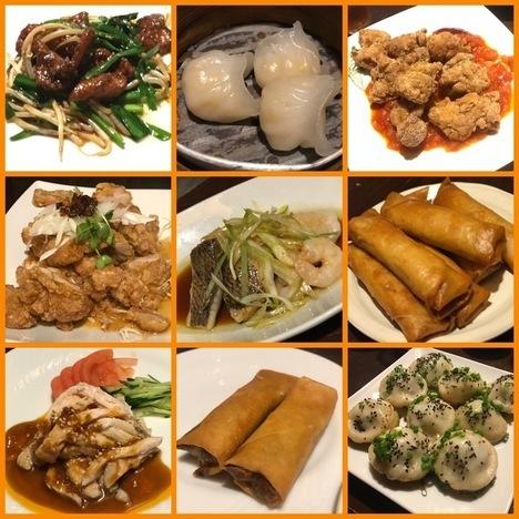 宇都宮暖龍柳瀬オーダーバイキング中華食べ放題各料理