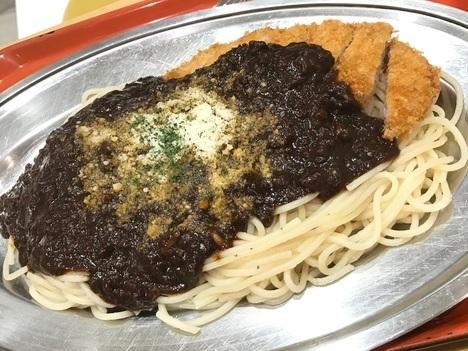高崎パスタ老舗シャンゴスパゲティ大盛り
