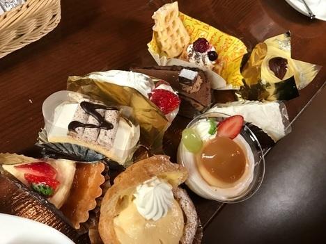 宇都宮ルフノワール月一ケーキバイキング食べ放題イベント一巡目