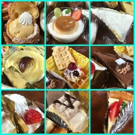 宇都宮羅布乃瑠月一ケーキバイキング食べ放題各ケーキ