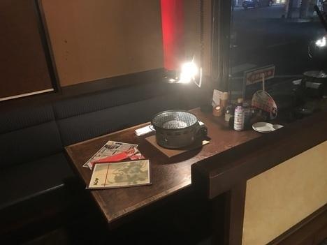 太田あぶり屋1人焼肉食べ放題席