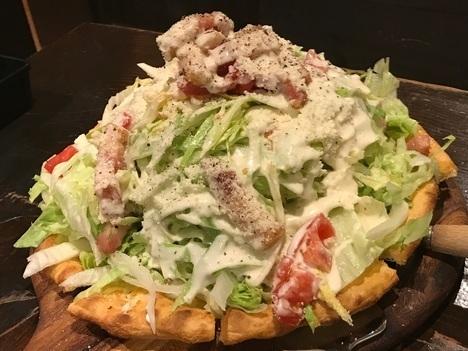 桐生キッチンマカロニデカ盛りピザデカ盛りハニートースト