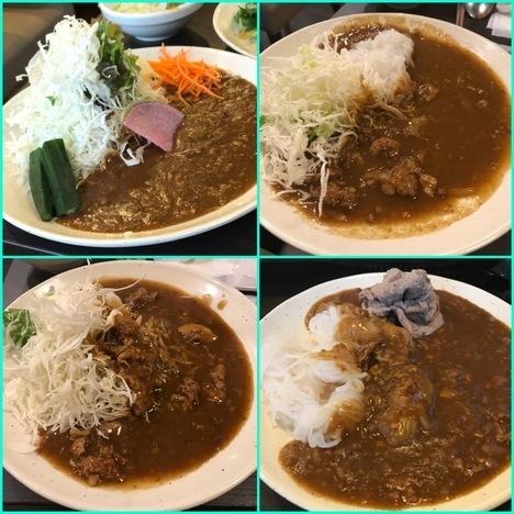 しゃぶ葉加須店平日時間無制限しゃぶしゃぶ食べ放題カレー