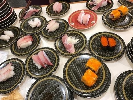 はま寿司総額割り勘オフ会お寿司