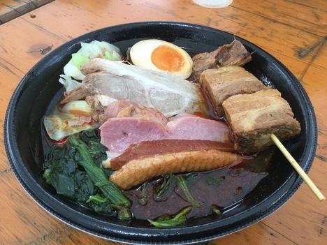 七宝麻辣湯マーラータン肉盛りスペシャル