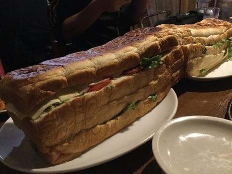 東あずまミスターデンジャーデンジャーパーティー特製巨大サンドイッチ