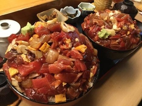 東大宮玄海寿司ばらちらし丼お得ランチメガ盛り大盛り比較